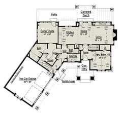 Modular home plans with inlaw suite suite home for Craftsman house plans with mother in law suite