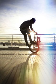 Another thing I would do in my spare time is ride my BMX. It is a bike but with added parts like pegs so it gives your bike a whole new experience.