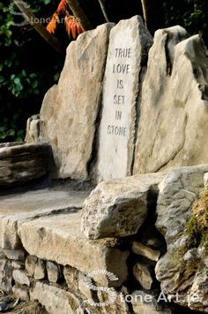Stone Art Blog: True love is set in stone