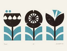biroRobot is an illustration, surface pattern design and print making studio based in Surrey. Scandinavian Pattern, Scandinavian Art, Motif Vintage, Retro Vintage, Affinity Designer, Doodles, Poster Prints, Art Prints, Screen Print Poster