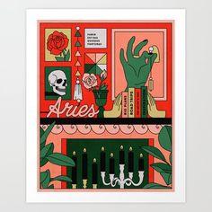 Aries Art, Zodiac Art, Good Vibes Art, Framed Art Prints, Canvas Prints, Art Furniture, Wall Art, Drawings, Free Spirit