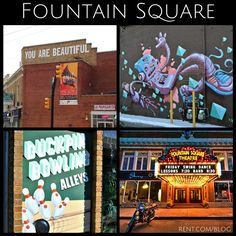 If you have never been to Fountain Square you are missing out!  My favorite neighborhood in Indianapolis Indiana!