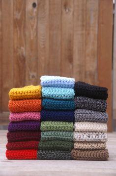 22 COLORS You Choose Crochet Headband/Ear by HayCreekRoadBoutique