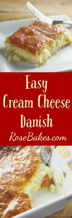 Cream Cheese Danish on Pinterest | Cheese Danish, Danishes and Danish ...