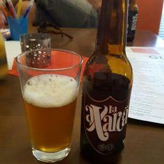 Laura is drinking a #LaAxarca by La Domadora Y El León on Untappd #Frigiliana #Málaga #Nerja #GustoRestaurant