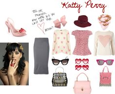 """""""Katty Perry a Day at the Office"""" by susan-j on Polyvore"""