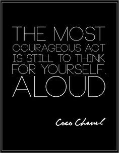 #cocochanel  fashion quote | Tumblr www.followpics.net