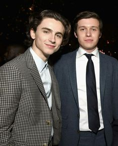 Timothee Chalamet and Nick Robinson both play gay characters in their upcoming films, Call Me By Your Name and Love, Simon.