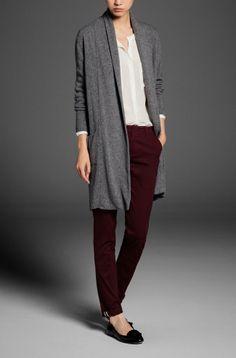 Massimo Dutti: LONG OPEN CARDIGAN - Sweaters & Cardigans - WOMEN - United States