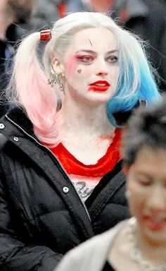 Margot Robbie on the set of 'Suicide Squad', June 1st