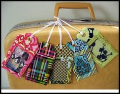 Download Luggage Tags Sewing Pattern | Featured Downloadable Sewing Patterns | YouCanMakeThis.com
