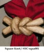 Square Knot Scout Slide.