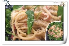 Spaghetti al prosciutto e limone Prosciutto, Good Mood, Spaghetti, Ethnic Recipes, Food, Essen, Meals, Yemek, Noodle