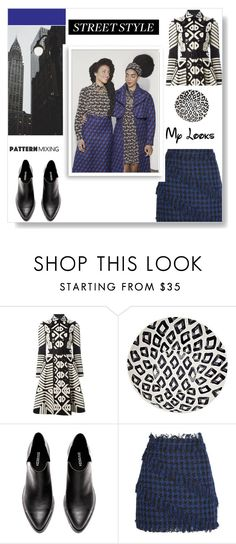 """""""The fabulous Quann sisters"""" by cinnamonrose30 ❤ liked on Polyvore featuring Burberry, MSGM and Bomedo"""