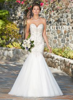 Wedding Dresses   Bridal Gowns   KittyChen - MONIQUE and like OMG! get some yourself some pawtastic adorable cat apparel!