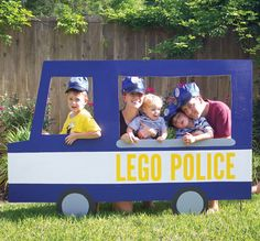 Making the Most of Your DIY Photo Props (+ Lego Police Party & Donut Party) // Hostess with the Mostess®