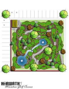 USA Miniature golf course builder, high quality mini golf construction with an experienced mini golf course designer