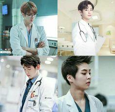 Imagine EXO being a doctor 👨🏻⚕️ which one will be your favorite? Exo Chen, Exo Xiumin, Kaisoo, Exo K, Chanbaek, Baekhyun Selca, Exo Imagines, Xiu Min, Exo Members