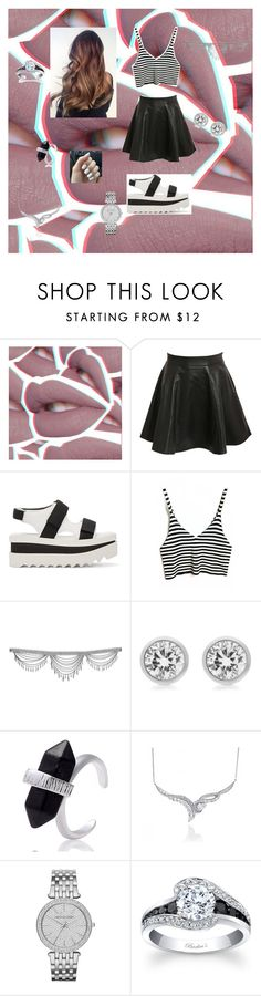 """""""Untitled #141"""" by aldi-mix on Polyvore featuring beauty, Lime Crime, Pilot, STELLA McCARTNEY and Michael Kors"""