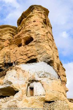 image of Walled cave pillar