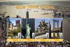 World Stamp Show NY 2016 Palau stamps