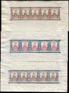Missprint :- 1915 Coronation of Ahmad Shah Qajar  1- 2 - 3 Kran