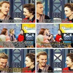 Jamie Campbell Bower and Lily Collins interview