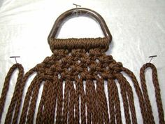 how to macrame bag