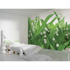 Lilies Of The Valley Wall Mural - 8-517 Lilies Of The Valley Photomural