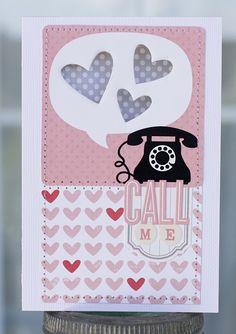 Paper Lulu: October Afternoon: Girl Talk Cards