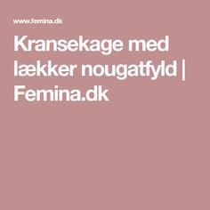 Kransekage med lækker nougatfyld | Femina.dk