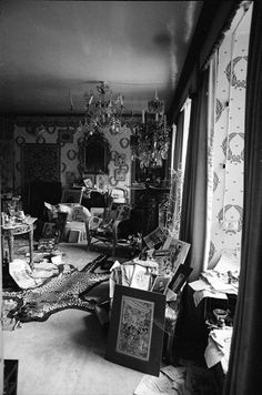 Wilsford Manor, Stephen Tennant's house, photographed by Cecil Beaton, 1938