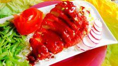 Char Siu (speciaal geroosterd Surinaams-Chinees vleesgerecht)