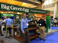 Eggzilla! The world's largest Big Green Egg. This was taken at the BGE booth at the international pool and spa show, New Orleans. Get your Big Green Egg at Oasis Hot Tub & Sauna in Nashua, NH.