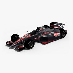 Indycar Izod Car Max - 3D Model