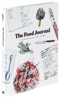 The Food Journal inspires cooks and foodies to record their experiences, experiments, and love of all things tasty. Use the journal to store notes and clippings