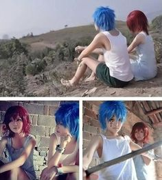 Young Jellal Fernandez and Erza Scarlet - Fairy Tail