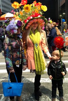 At the New York City Easter Parade #easterparade #easterbonnet #hat #LifeIsCake