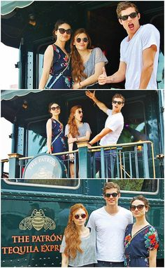 Crystal Reed, Holland Roden and Daniel Sharman...