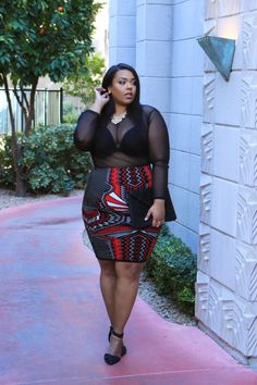 Today is another Valentine's post, but it has a little twist. I will be a modern day plus size Queen of Hearts. Big Size Fashion, Thick Girl Fashion, Plus Size Fashion For Women, Curvy Women Fashion, Fashion Tips For Women, Look Fashion, Curvy Outfits, Plus Size Outfits, Girl Outfits