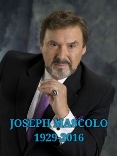 "Joseph Mascolo famous for the role of Stefano DiMeara on the Emmy winning drama ""Days of our Lives"" has sadly passed away after battling Alzheimer's he was 87 years old. ⏳"