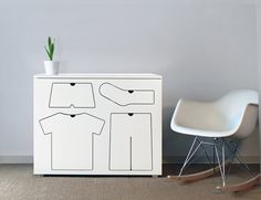 the training dresser, smart except pull handle would probably be easier