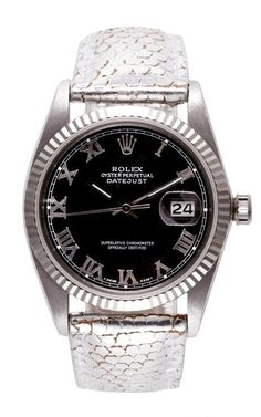 Rolex Stainless Steel Quick-Set Oyster Perpetual Datejust by CMT Fine Watch and Jewelry Advisors for Preorder on Moda Operandi