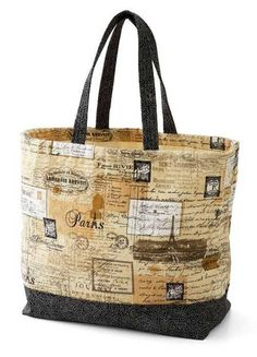 Free Tote Bag Patterns | this free pattern is brought to you by allpeoplequilt com