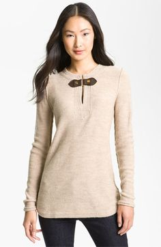 Tory Burch 'Mim' Sweater Tunic available at #Nordstrom