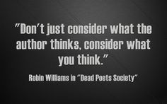 Video: Dead Poets Society On Thinking Outside Of The Box