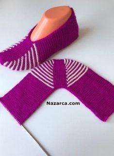 KOLAY TABANLI VE TOPUK YAPIMI İLE İKİ PATİK VİDEOLU - Crochetfornovices.com