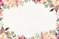 Watercolor Wallpaper, Watercolor Background, Floral Watercolor, Wallpaper Powerpoint, Powerpoint Background Design, Flower Backgrounds, Wallpaper Backgrounds, Slides Powerpoint, Wedding Background