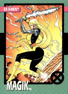 Magik by Jim Lee from the Impel Uncanny X-Men Trading Card Set (1992)