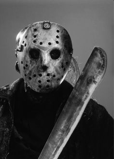 Jason Voorhees.... Gotham News, Classic Monsters, Horror Films, Horror Movie Characters, Slasher Movies, Horror Icons, Horror Art, Movie Photo, Scary Movies
